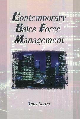 Contemporary Sales Force Management book