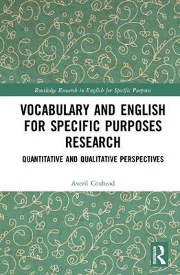 Vocabulary and English for Specific Purposes Research by Averil Coxhead