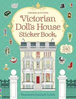 Victorian Doll's House Sticker Book by Ruth Brocklehurst