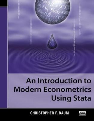 Introduction to Modern Econometrics Using Stata book