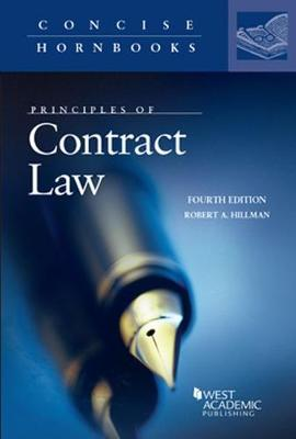 Principles of Contract Law by Robert Hillman