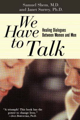 We Have To Talk book
