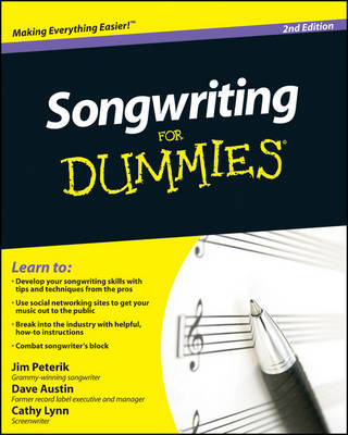Songwriting for Dummies, 2nd Edition by Dave Austin