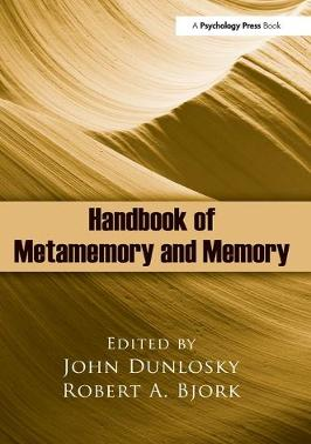 Handbook of Metamemory and Memory book