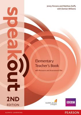 Speakout Elementary 2nd Edition Teacher's Guide with Resource & Assessment Disc Pack by Jenny Parsons