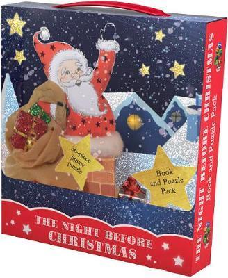 The Night Before Christmas Book and Puzzle Pack: 36-piece Jigsaw Puzzle by Clement C. Moore
