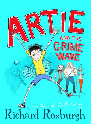 Artie and the Grime Wave book