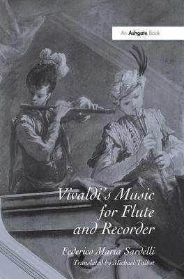 Vivaldi's Music for Flute and Recorder book