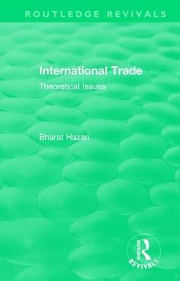 : International Trade (1986) book