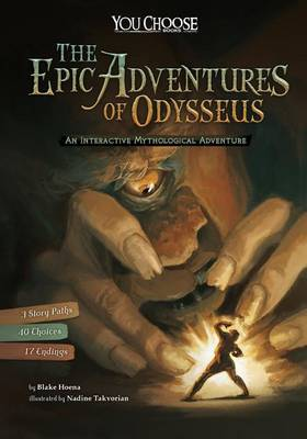 Epic Adventures of Odysseus: An Interactive Mythological Adventure by Stefano Azzalin