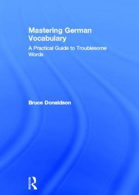 Mastering German Vocabulary by Bruce Donaldson