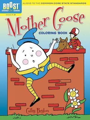 BOOST Mother Goose Coloring Book by Cathy Beylon