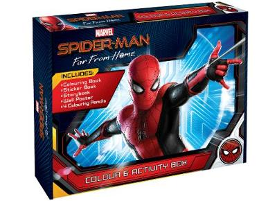 Spider-Man Far from Home Colour and Activity Box by