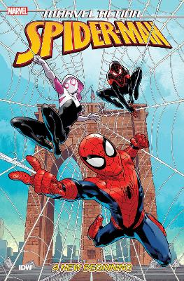 Marvel Action Spider-Man New Beginnings (Book One) by Delilah S. Dawson