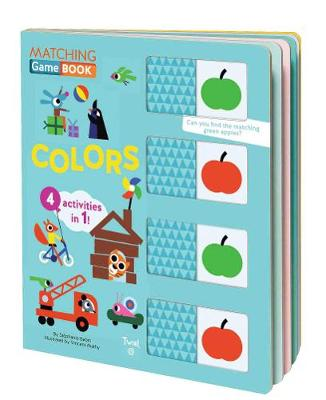 Matching Game Book: Colors by Stephanie Babin