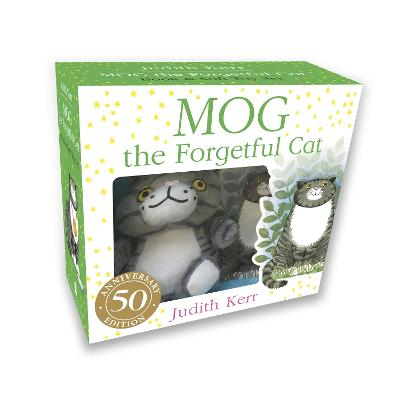 Mog the Forgetful Cat Book and Toy Gift Set by Judith Kerr