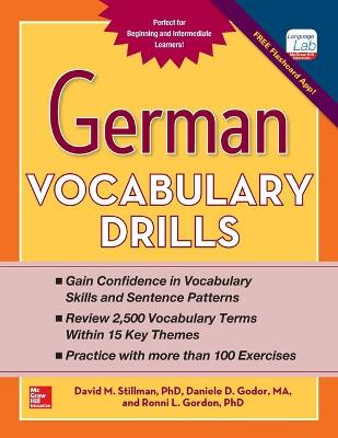 German Vocabulary Drills by David M. Stillman