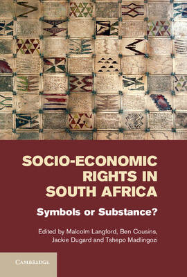 Socio-Economic Rights in South Africa by Ben Cousins