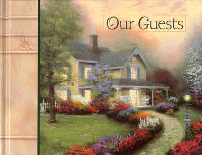 Simpler Times Guest Book by Thomas Kinkade