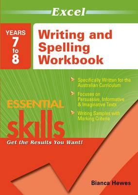 Excel Ess Writing and Spell 7 - 8 book