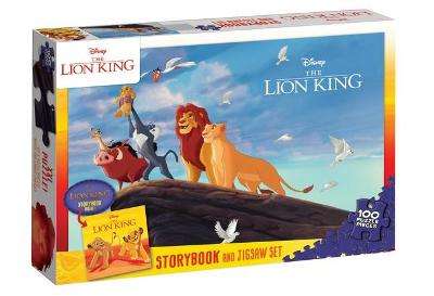 The Lion King: Book and Puzzle (Disney) book