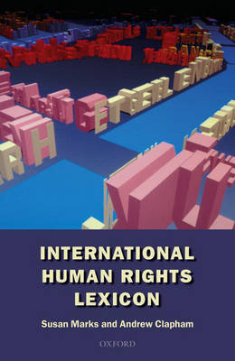 An International Human Rights Lexicon by Susan Marks