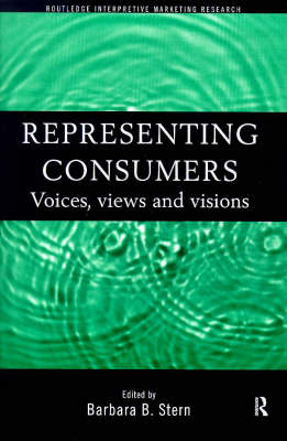Representing Consumers by Barbara Stern