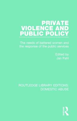 Private Violence and Public Policy book