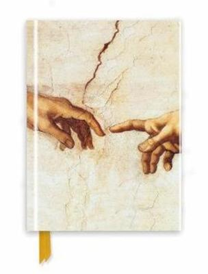 Michelangelo: Creation Hands (Foiled Journal) by Flame Tree Studio