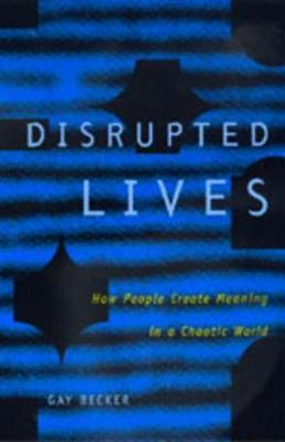 Disrupted Lives book