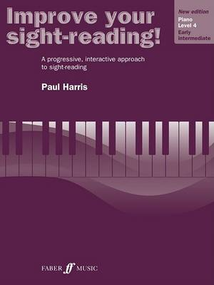 Improve Your Sight-Reading! Piano, Level 4 by Paul Harris