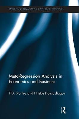 Meta-Regression Analysis in Economics and Business by T.D. Stanley