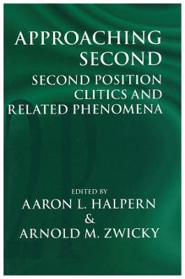 Approaching Second by Aaron L. Halpern