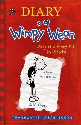 Diary o a Wimpy Wean book