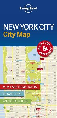 Lonely Planet New York City Map by Lonely Planet