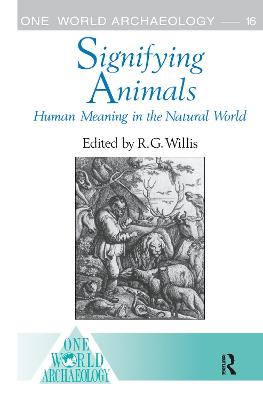 Signifying Animals by Roy Willis