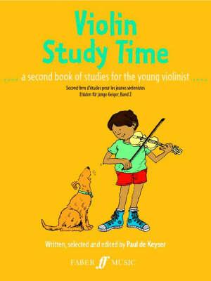 Violin Study Time by Paul de Keyser