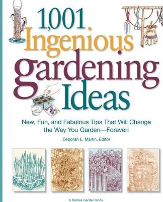 1,001 Ingenious Gardening Ideas book