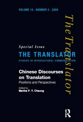 Chinese Discourses on Translation by Mona Baker