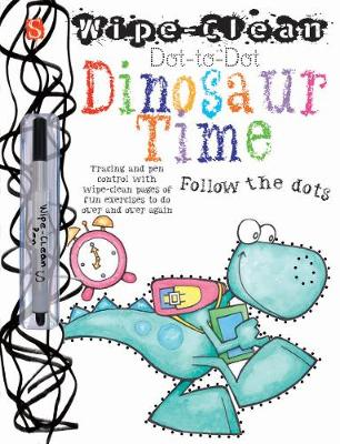 Dot-To-Dot Dinosaur Time by Margot Channing
