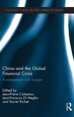 China and the Global Financial Crisis book