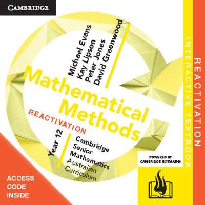 CSM AC Mathematical Methods Year 12 Reactivation (Card) by Michael Evans