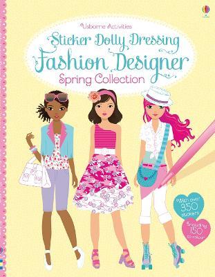 Sticker Dolly Dressing Fashion Designer Spring Collection by Fiona Watt