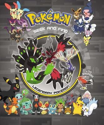 Pokemon Seek and Find - Legendary Pokemon by Viz Media