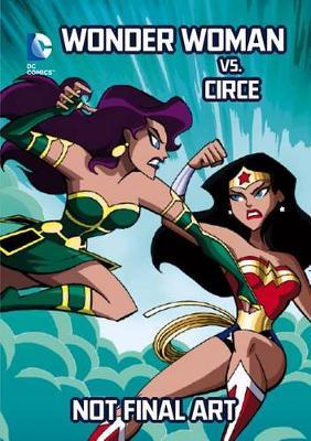 Wonder Woman vs. Circe book