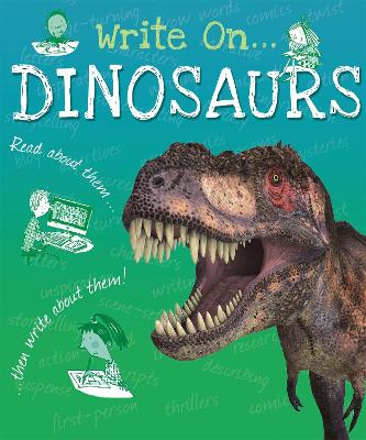 Write On: Dinosaurs book