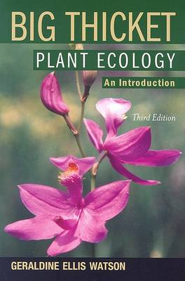 Big Thicket Plant Ecology book