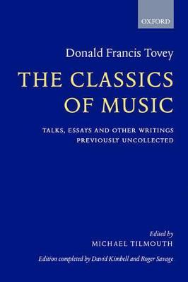 Classics of Music book