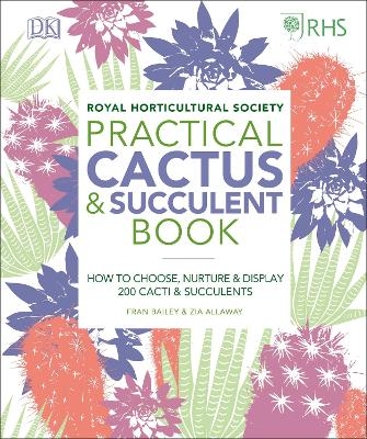 RHS Practical Cactus and Succulent Book: How to Choose, Nurture, and Display more than 200 Cacti and Succulents book