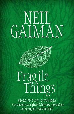 Fragile Things book